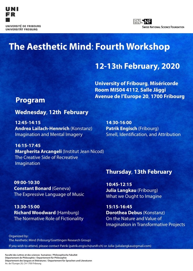 TheAestheticMindFourthWorkshop